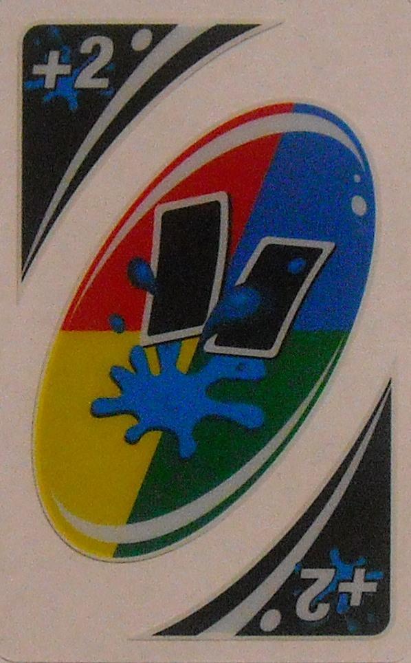 Uno H2O Uno (Wild Downpour Card)