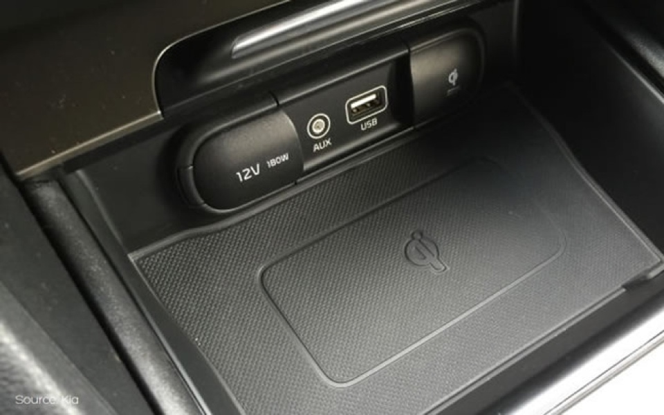 Kia console signifiers