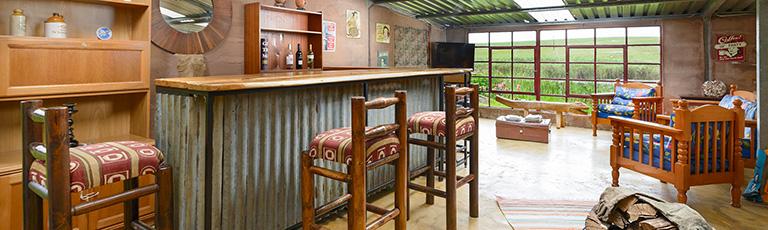 Venue bar area.