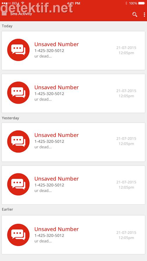 aplikasi penyadap mobile tracker iphone & android melalui PC