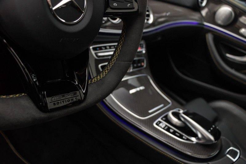 "Mercedes-Benz E-Klasse E63s AMG EDITION 1 4Matic 612pk (MAGNO MAT) Panoramadak Distronic Nightpakket Schaalstoelen Burmester Carbon ComandOnline Keyless 20"" Parktronic Pdc afbeelding 18"