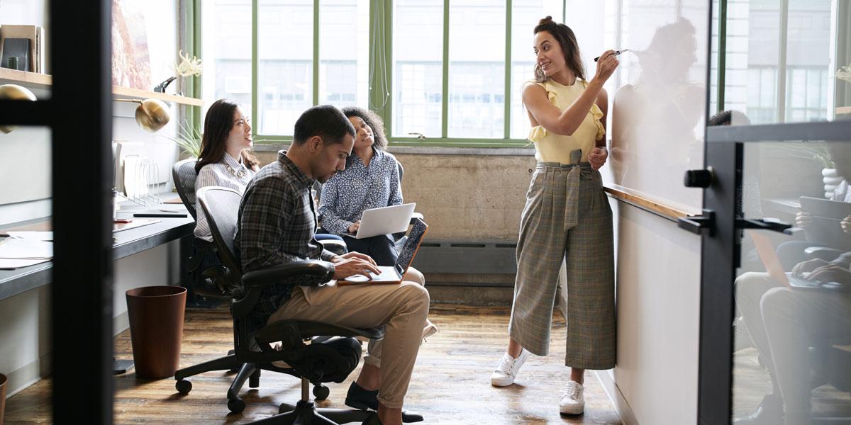 UX professionals brainstorming portfolio ideas