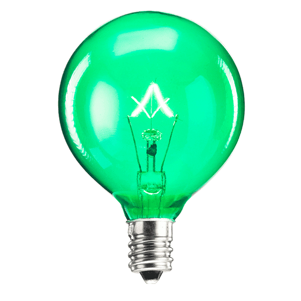 25 Watt Light Bulb - Green