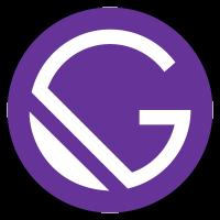 Logo for gatsby