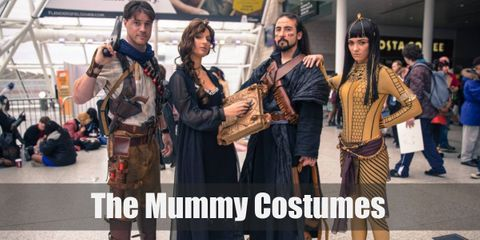 Diy Costume Guides for Anck Su Namun, Evelyn Carnahan, Imhotep, Medjai, Rick o Connell