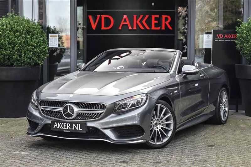 Mercedes-Benz S-Klasse S500 CABRIO AMG-LINE+BURMESTER+HEAD-UP NP.201K afbeelding 1