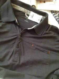 A black shirt