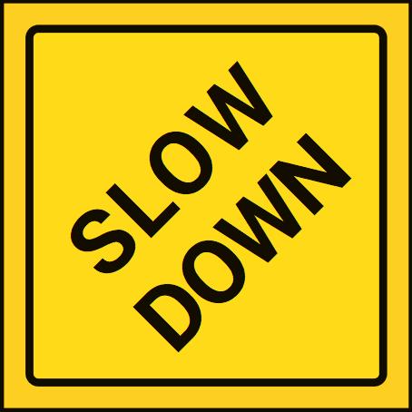 Sicherheitskarte Pause Bremsen hinten
