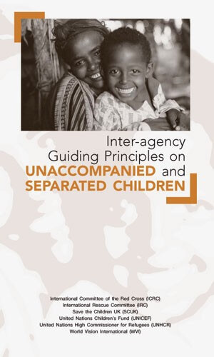 Inter-agency guiding principles on unaccompanied and separated children