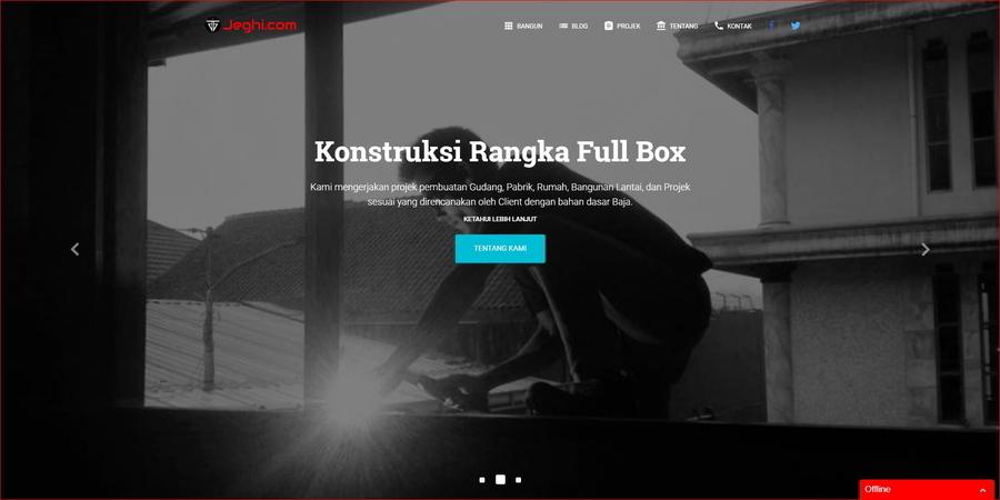 Jeghi.com - Konstruksi Baja Ringan
