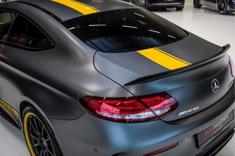 Mercedes-Benz C-Klasse Coupé 63 S AMG Edition 1 Yellow   Keramiek   HUD afbeelding 3