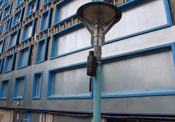 4G Wireless Alarm System Mounted