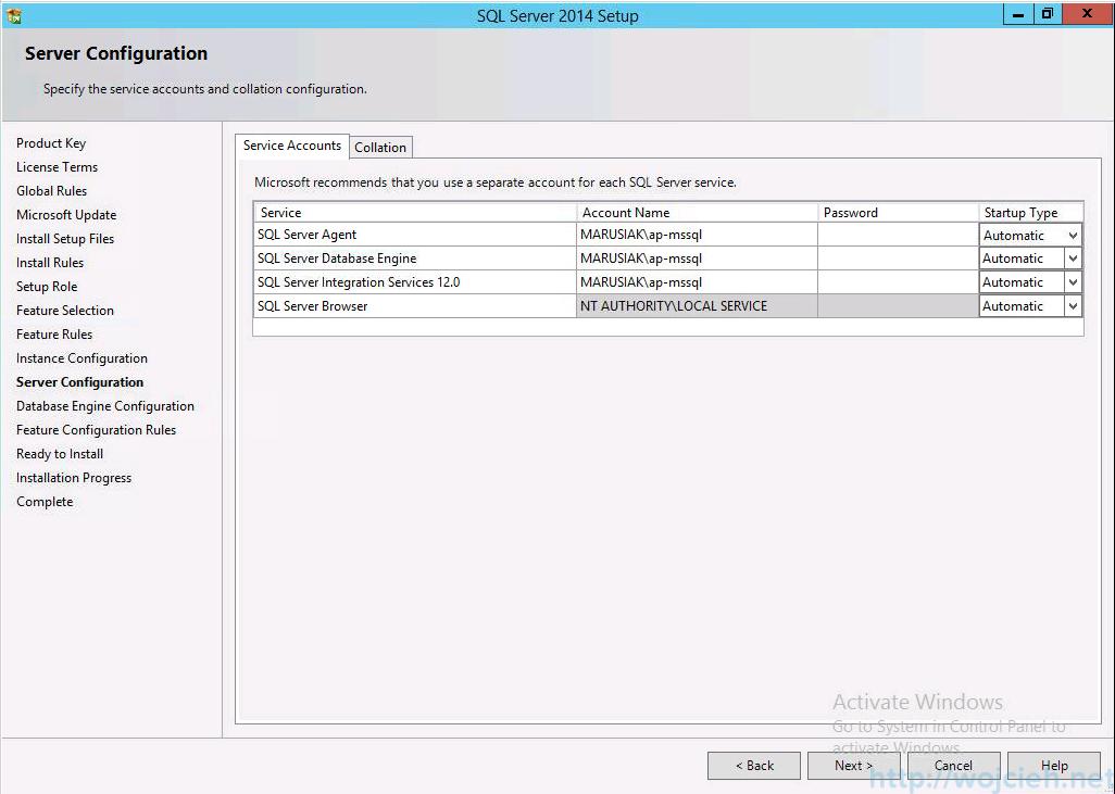 vCenter 5.5 on Windows Server 2012 R2 with SQL Server 2014 - 12