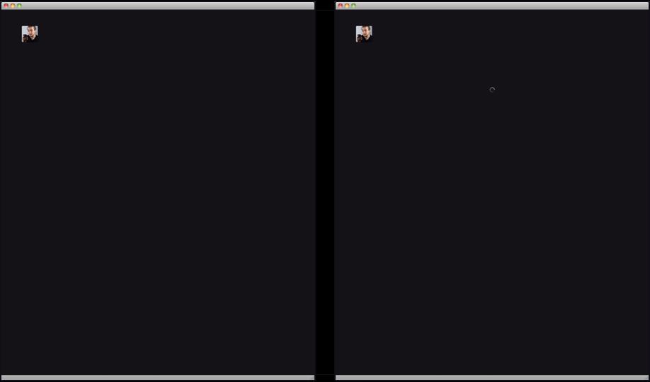 Loading spinner vs. no loading spinner