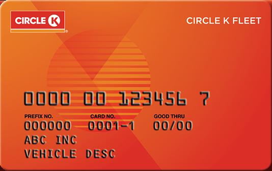 Circle k card