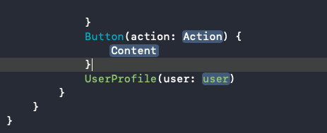 Working placeholder value for Button