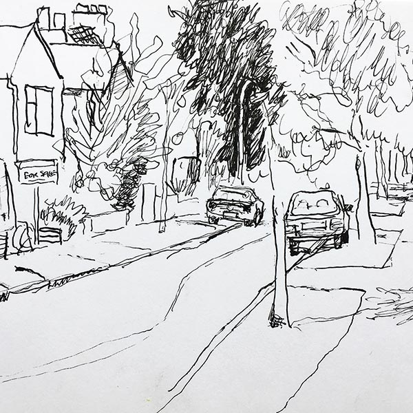 Cambridge street scene