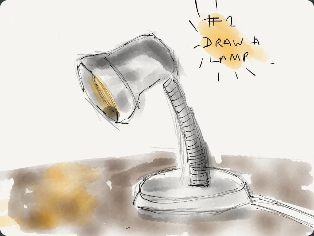 EDM #2 Draw a Lamp