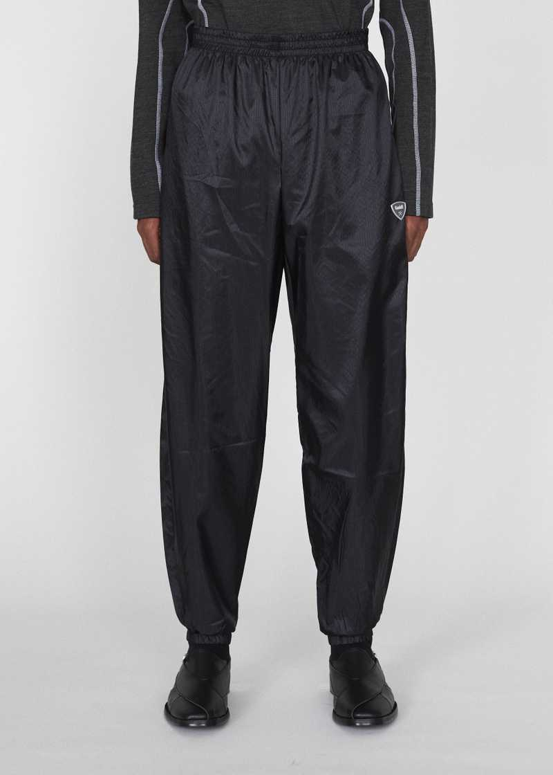 SEHER GMBH AW19 JOGGING TROUSERS BLACK FRONT