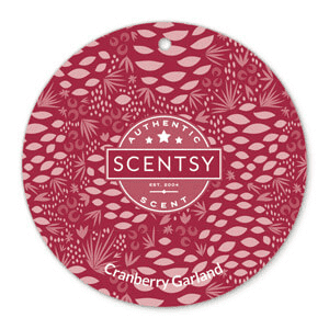 Picture of Cranberry Garland Scent Circle