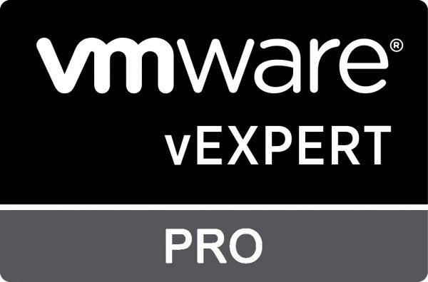 VMware vExpert Pro Award