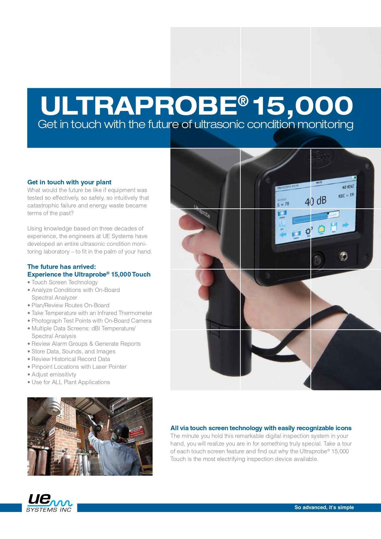 UP15000 Brochure