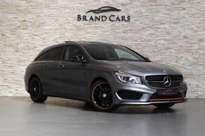 Mercedes-Benz CLA-Klasse Shooting Brake 200 OrangeArt Edition | VERKOCHT! | | Panoramadak | Memory stoelen | AMG Pakket | Night Pakket | Achteruitrijcamera | afbeelding 4