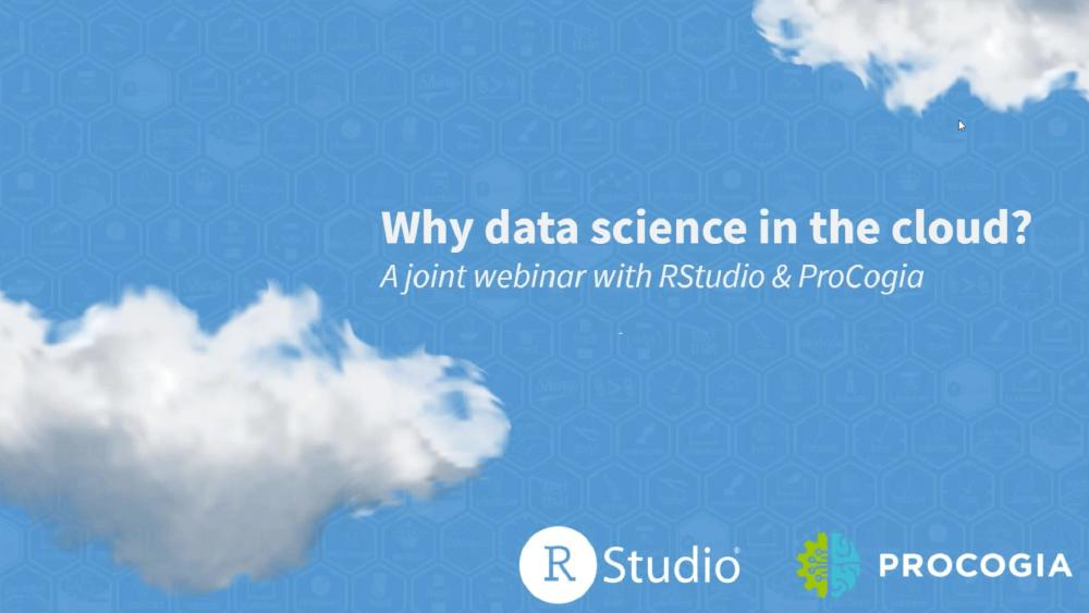 Why Data Science in the Cloud?