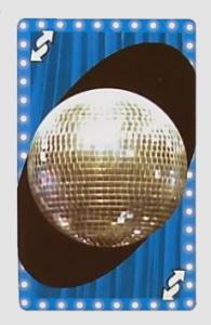 High School Musical Blue Uno Reverse Card