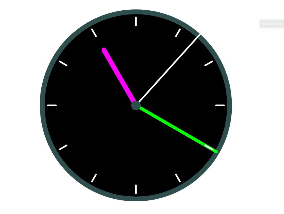 Cómo crear un reloj analógico con Javascript - Sortilegios 02