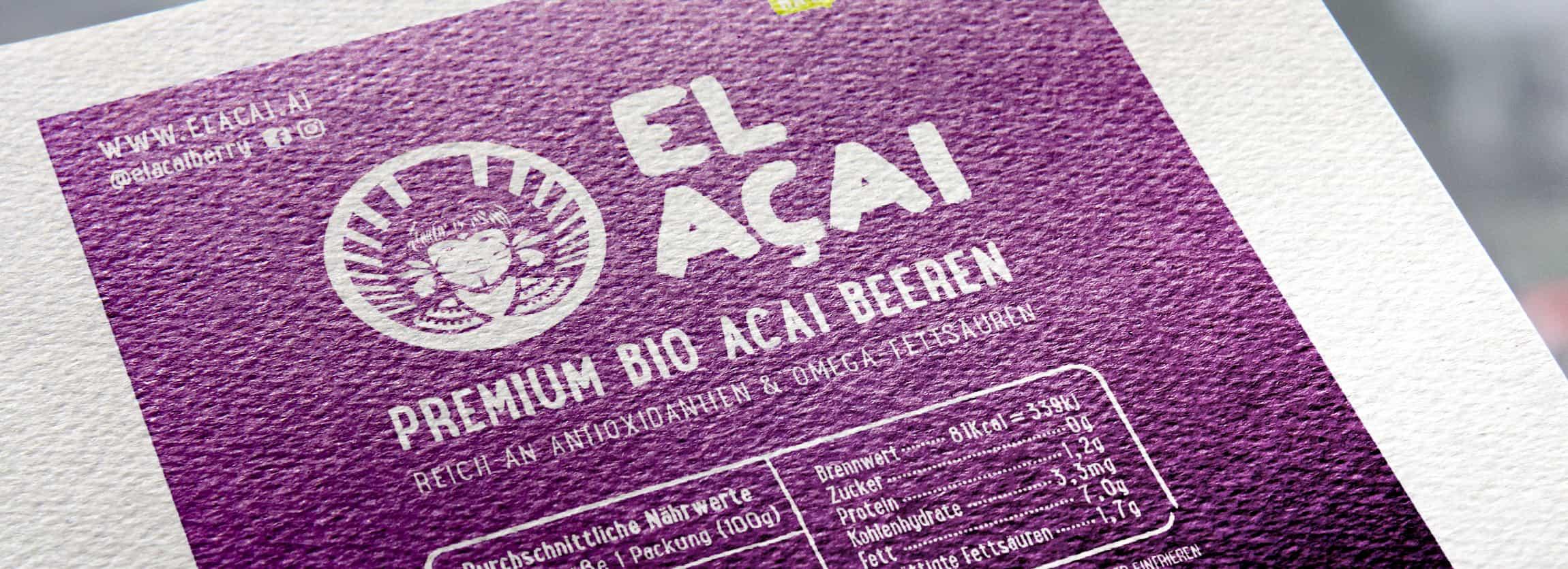 El Acai Print Mockup