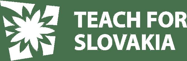 Logo spoločnosti Teach for Slovakia