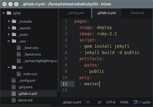 Gitlab-ci