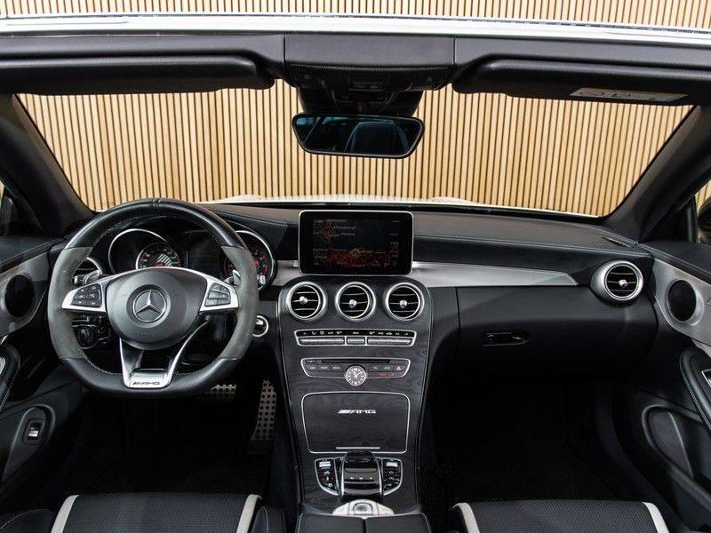 Mercedes-Benz C-Klasse C63 S AMG Cabrio AMG RIDE CONTROL, NIGHTPACK, afbeelding 22