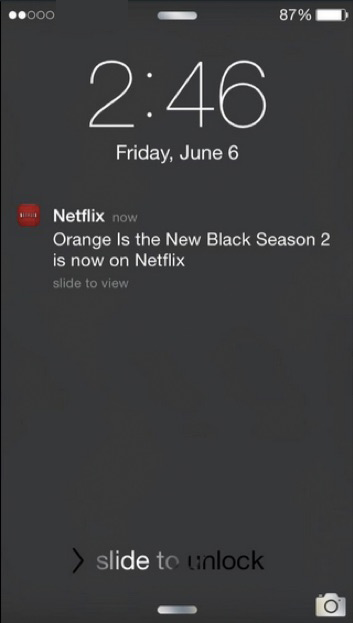 Netflix Notification