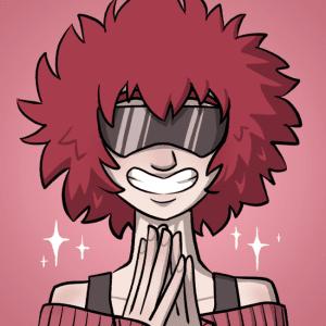 Aoi grins.