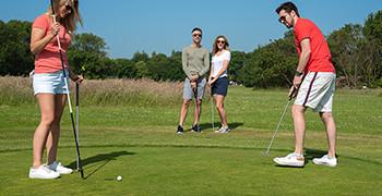 Golf at Potters Resort