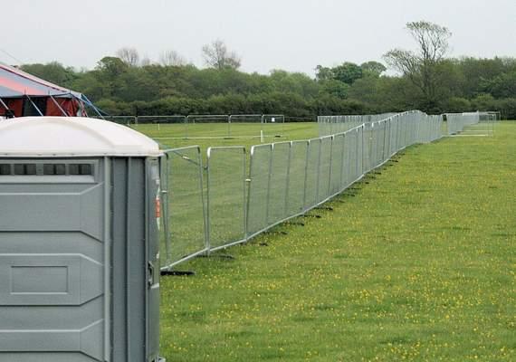 Temp event fence
