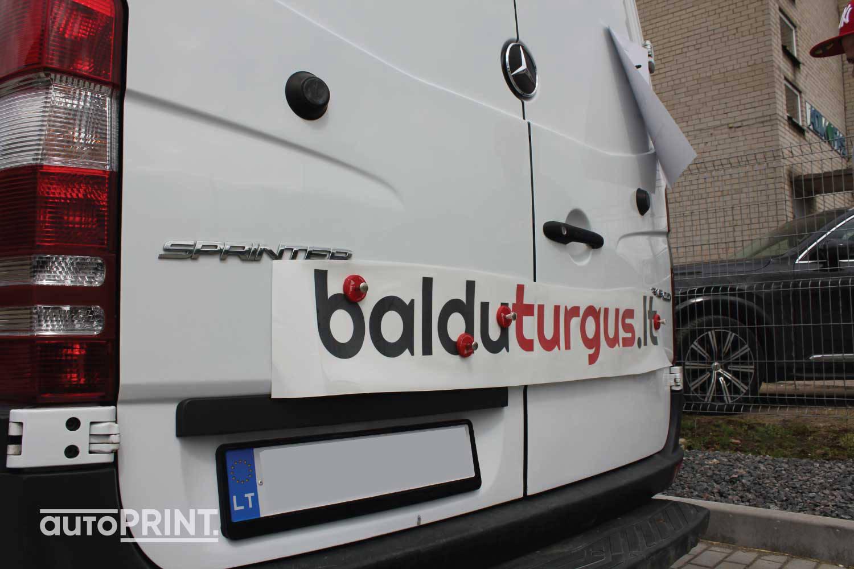 Baldu turgus autobusiukas
