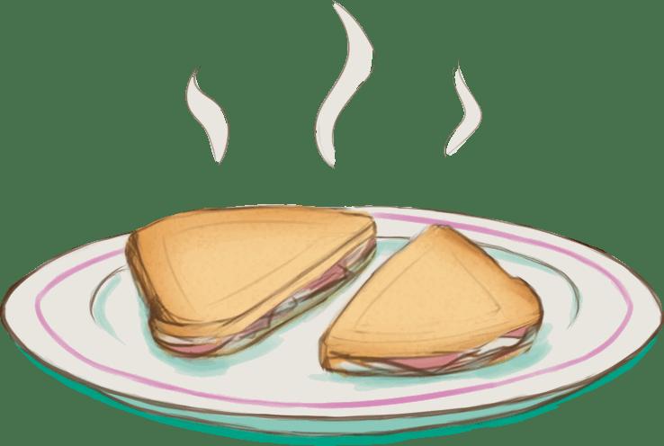 Pão com Mortadela