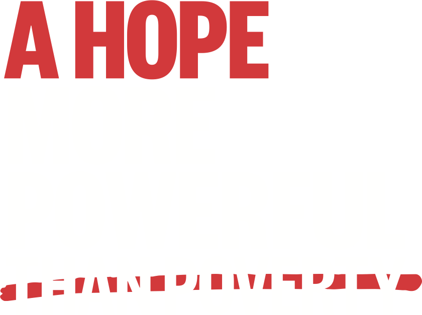 A hope more powerful than poverty