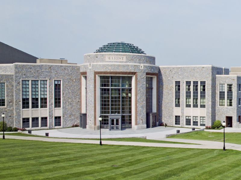 Marist College rotunda.
