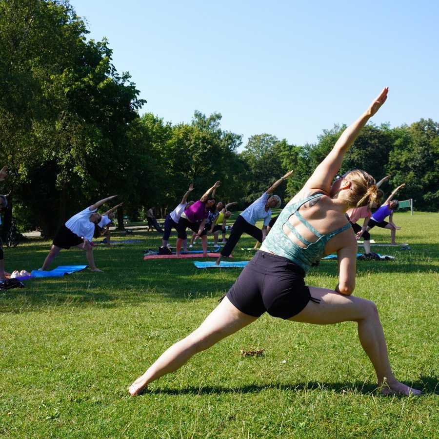Yoga am Fasaneriesee 2021