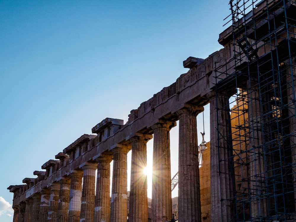 Sunrise at the Acropolis, Athens