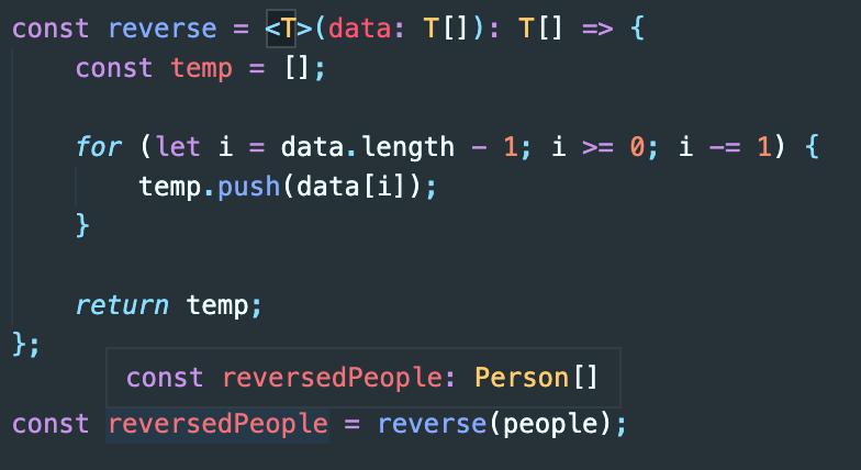 typescript-correct-type