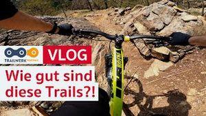 JETZT WIRDS SPEKTAKULÄR! Mein erster Besuch im Trailwerk Wachau. Teil 2 | MTB Vlog | PoV