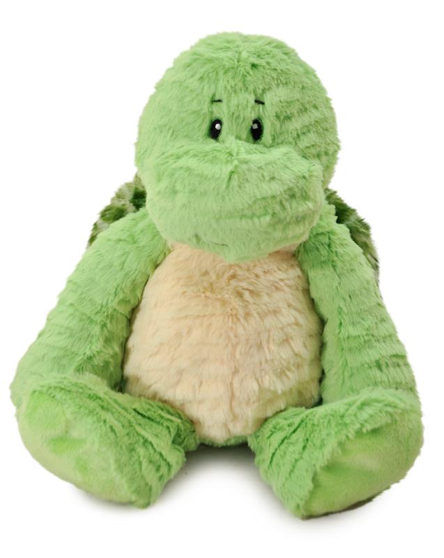 """The Petting Zoo: 14"""" Snugglerz Turtle Plush"""