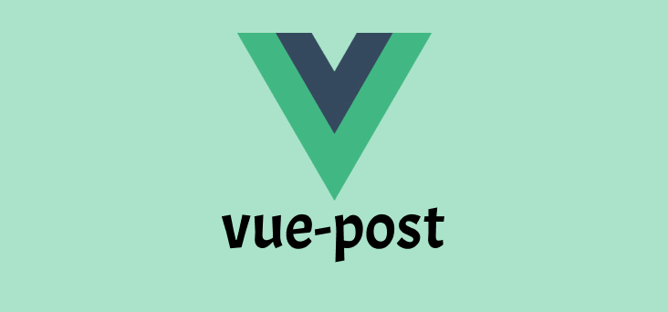Send HTML form action POST requests from Javascript with Vue-post