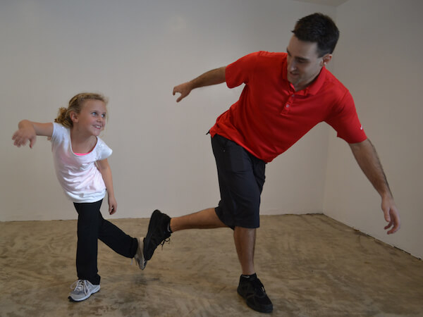 image of Pediatric Rehab exercises in San Diego