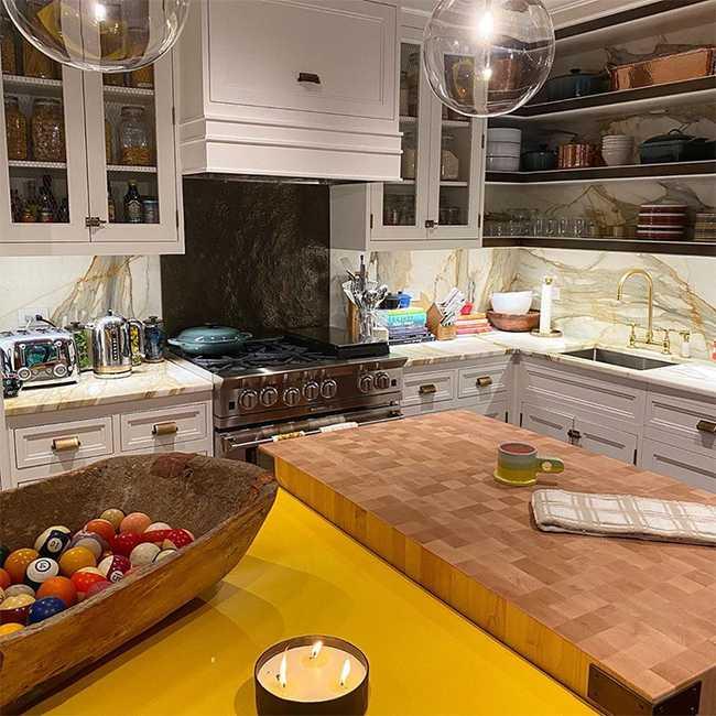 Gigi Hadid's kitchen. © Hello!